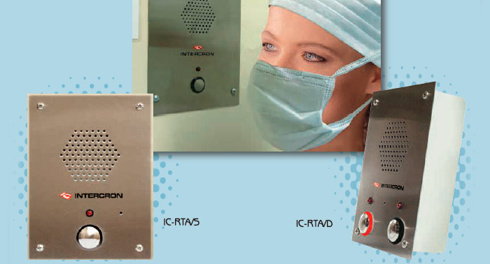 Laboratory and Operating Rooms intercom systems